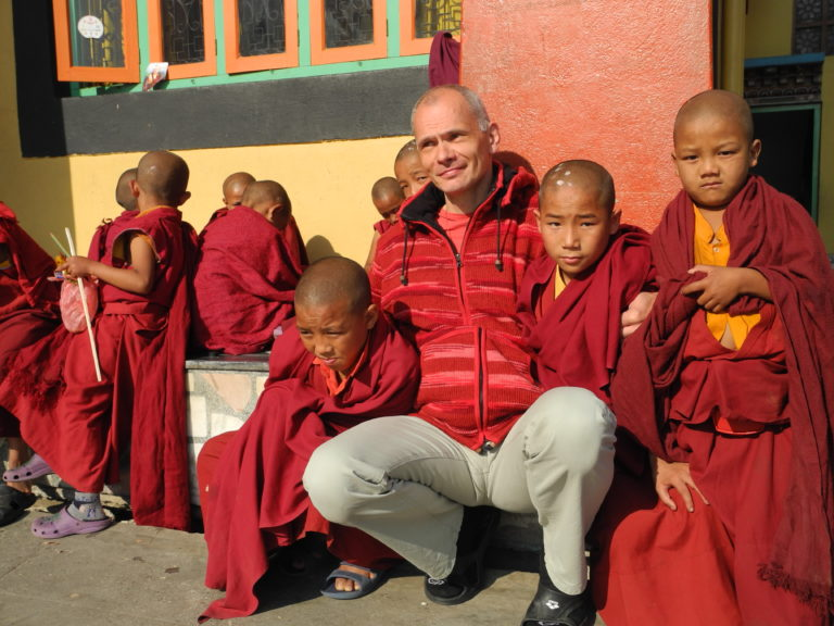 Przylot do Kathmandu