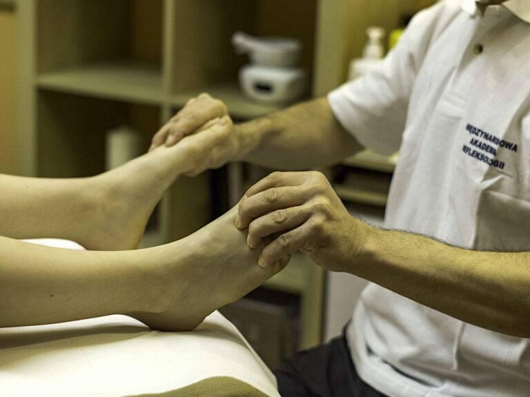 Refleksoterapia jest moją pasją i moim ulubionym rodzajem terapii